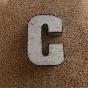 Letter C decor